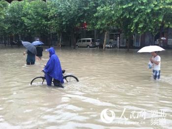 2016年风雨考验—河北遭遇暴雨袭击