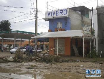 墨西哥附近海域发生8.2级强烈地震 已致多人遇难